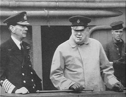 Keyes and Churchill 1941